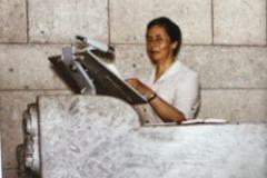1984 predigte Sr. Teresa in der Maihofkirche