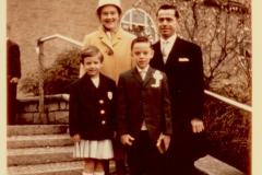 Georges mit seiner Familie