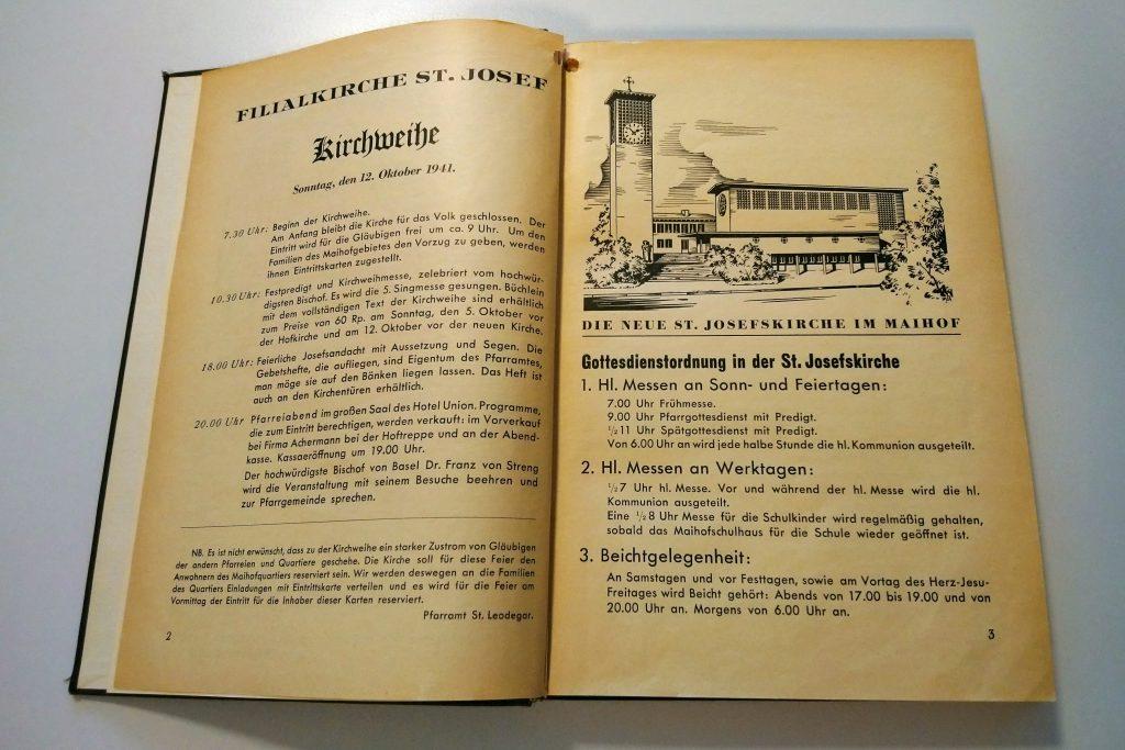 Pfarrblatt St. Leodegar, Seite 2-3, 1. Okt. 1941
