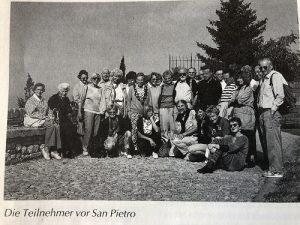 Pfarreireise nach Assisi 1992
